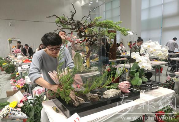 江苏省园林绿化行业技能竞赛举行