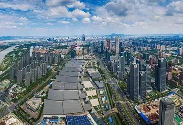 中国国际进口博览会沪外常年展项目正式落户南京建邺