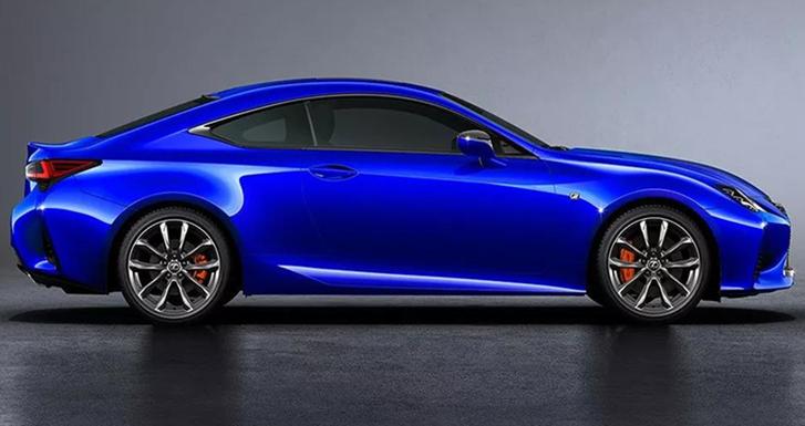 新雷克萨斯RC将于广州车展上市发布