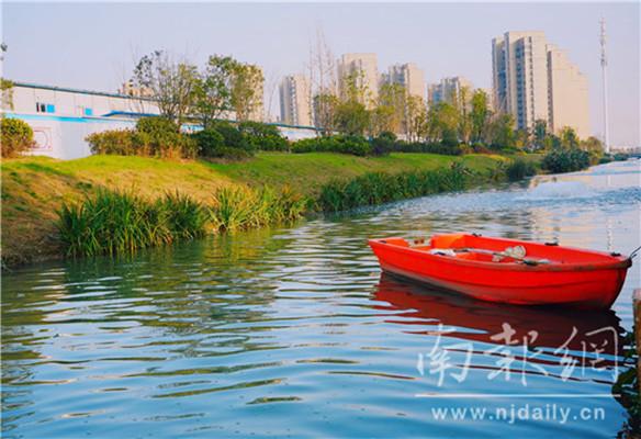 浦口城建集团:16字治水方针引领区域水环境提档