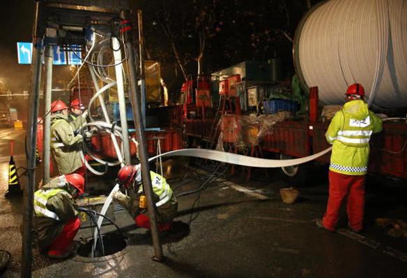 施工不扰民!南京首次采用新技术这样修理排水管道
