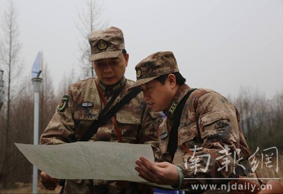 南京警备区组织新年开训动员暨实战化演练