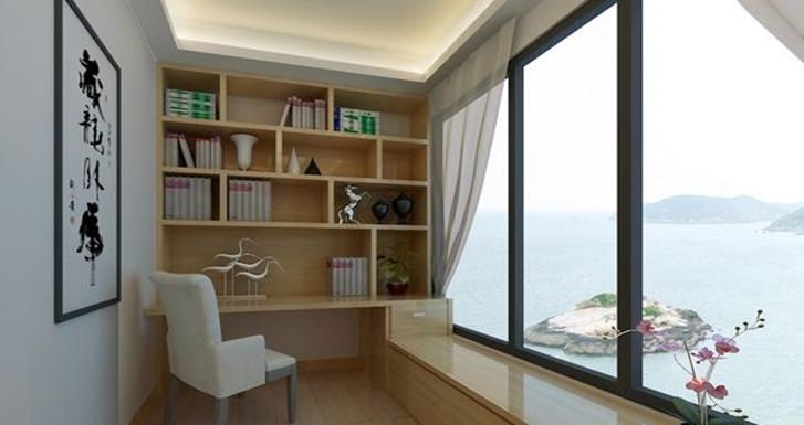 小户型这4处不显眼的空间只要这样装,马上就能多出间书房!