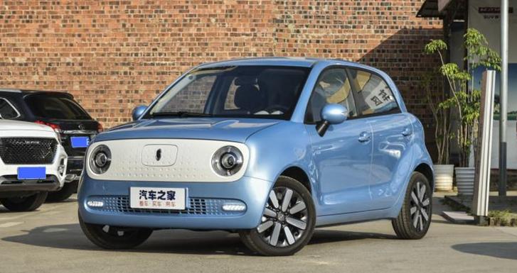 补贴后售6.98万 欧拉R1新车型正式上市