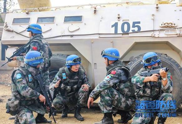 《蓝色防线》发布终极预告 记录维和战场催泪时刻