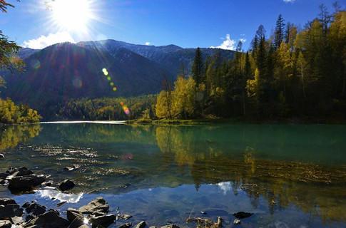 秋天的北疆,惊艳了整个中国,就是人间净地,摄影者的天堂